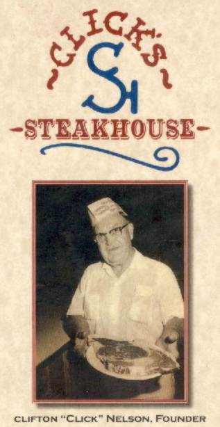 Click's Steakhouse Pawnee Oklahoma